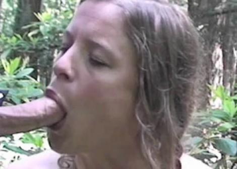 Erin Electra gets fucked in the woods